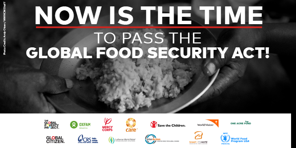 Action Needed to Pass the Global Food Security Act