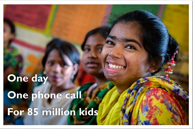 Call-In Day to End Child Labor