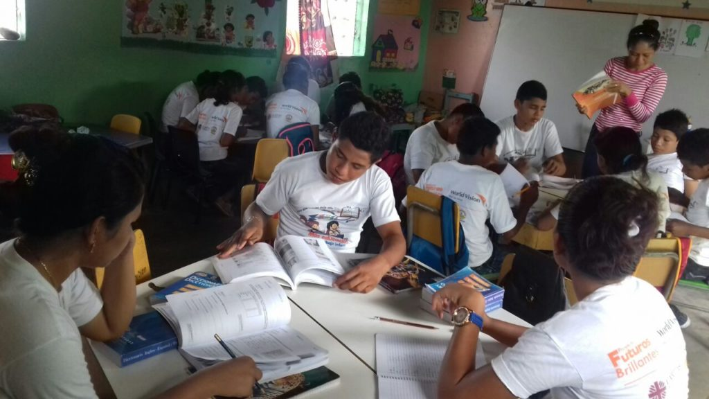 "There are 18 youth participating in the ""EDUCATODOS"" (We all learn) alternative education group in Valle, Honduras. The t-shirts are their uniforms that they wear for every session. ©2018 Photo by Elmer Osorto, Project Facilitator"
