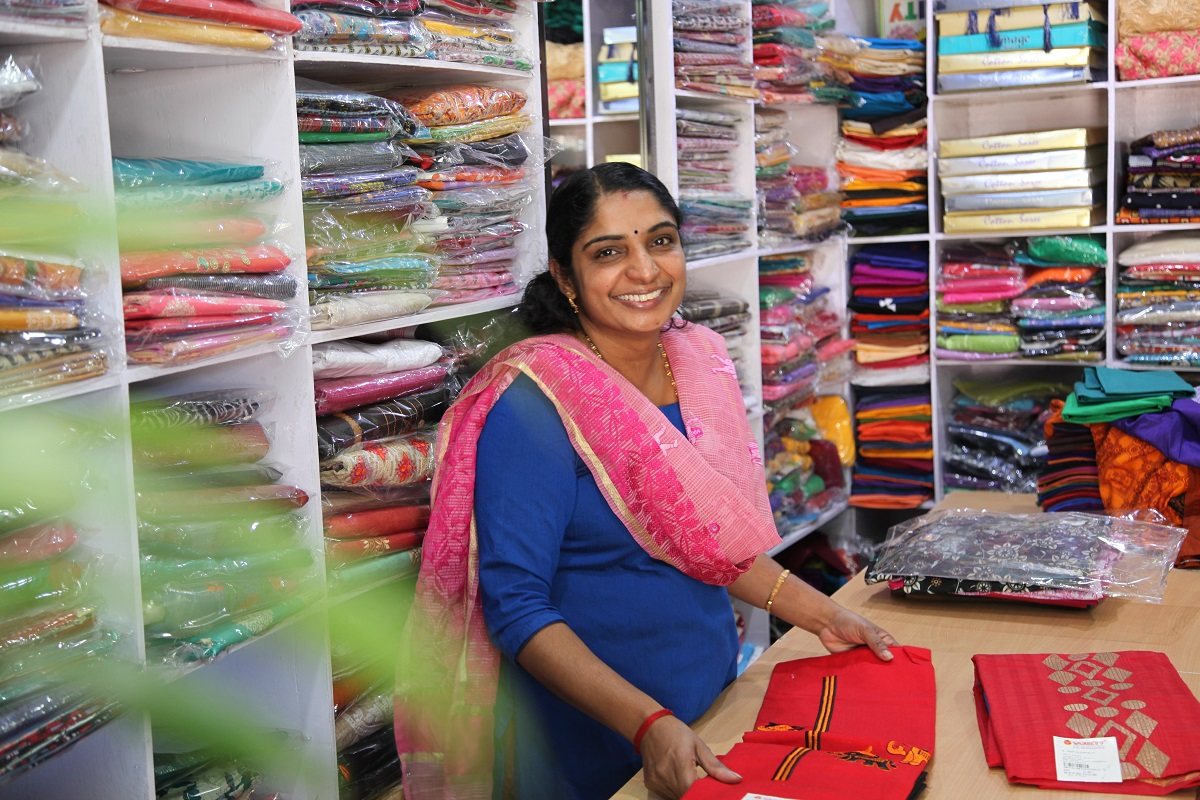 This innovative program empowered Sajitha to expand her business