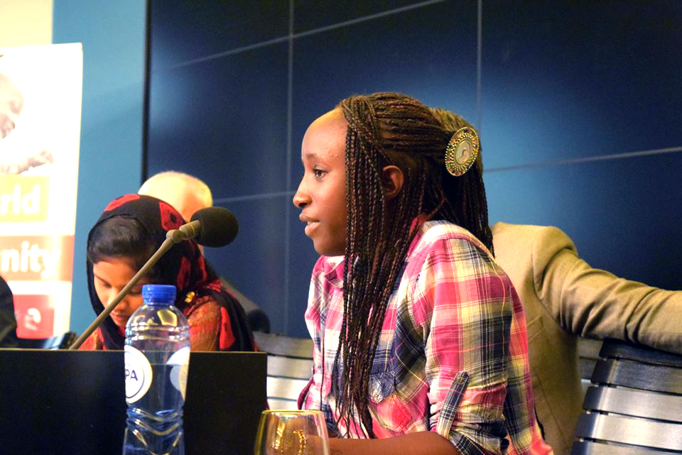 "Young leader in Senegal: ""End child marriage"""