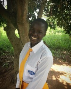 Rebecca, a Ugandan teen who's back in school, thanks to a program from World Vision and PEPFAR.