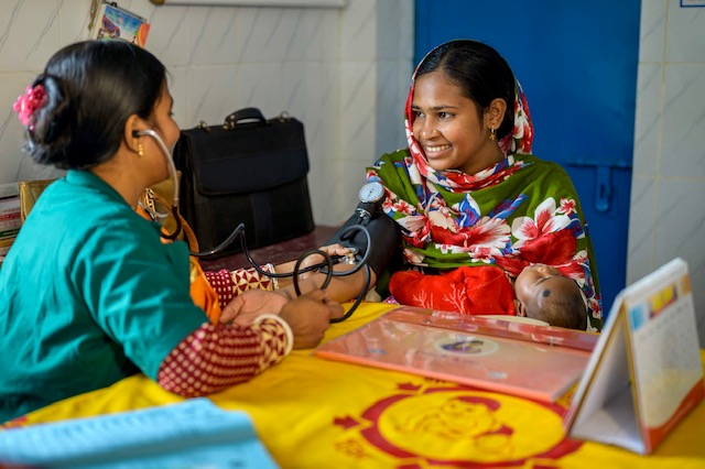 In Bangladesh, USAID and local-level advocacy help moms and babies thrive