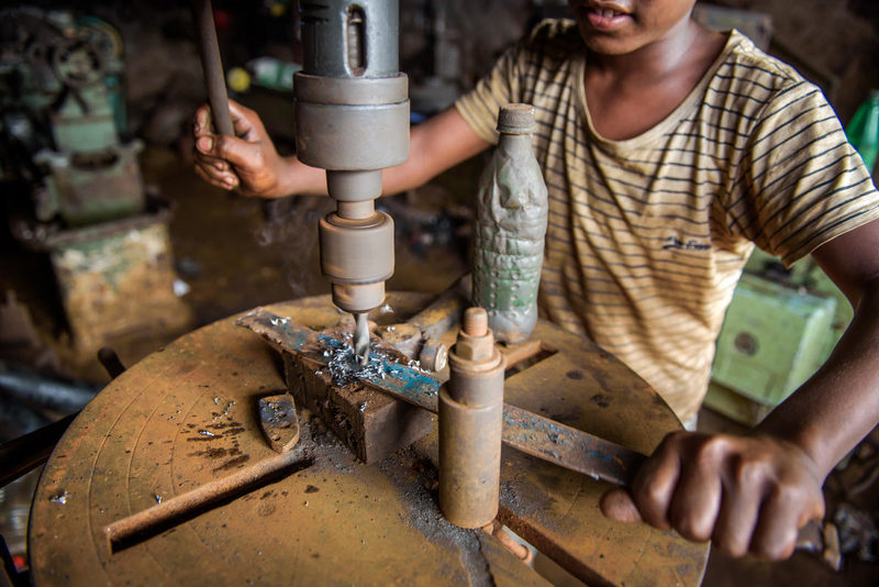 What is child labor and what is being done to stop it?