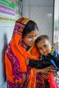 Momtaz Begum had her son after receiving counseling on healthy family planning