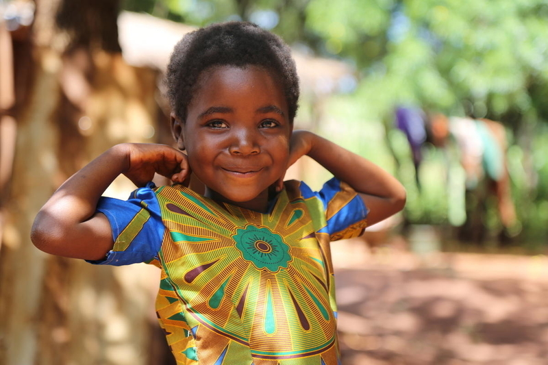 Thandizo is now healthier and stronger than when she was fighting malaria.