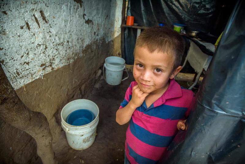 Boy in Central America