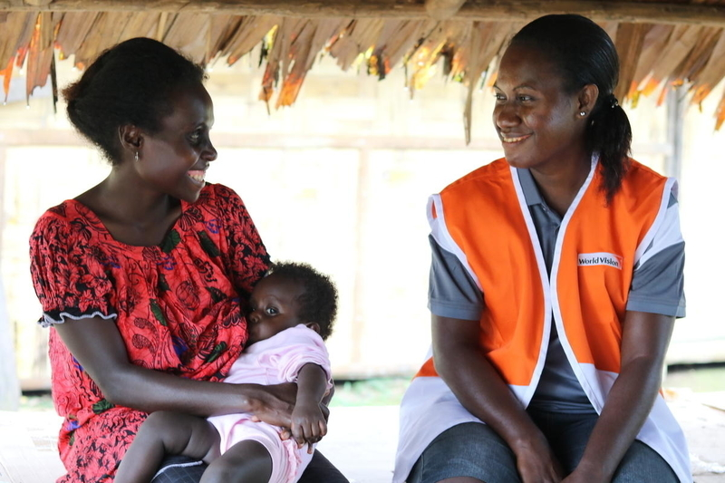 Breastfeeding helps baby Moreen stay healthy