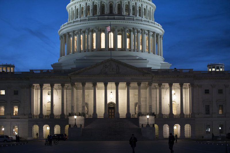 Capitol building, where U.S. foreign aid is often threatened