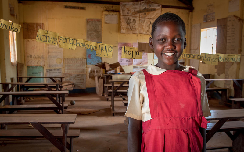 Keeping girls in school changes the world!