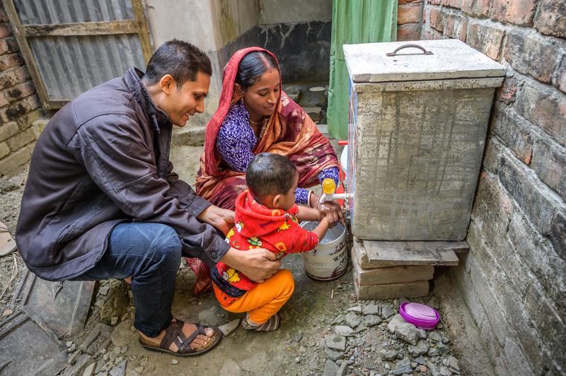 Nobo Jatra taught this family about sanitation