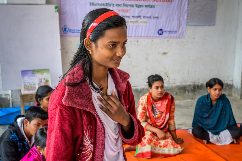 Eka advocates against child marriage