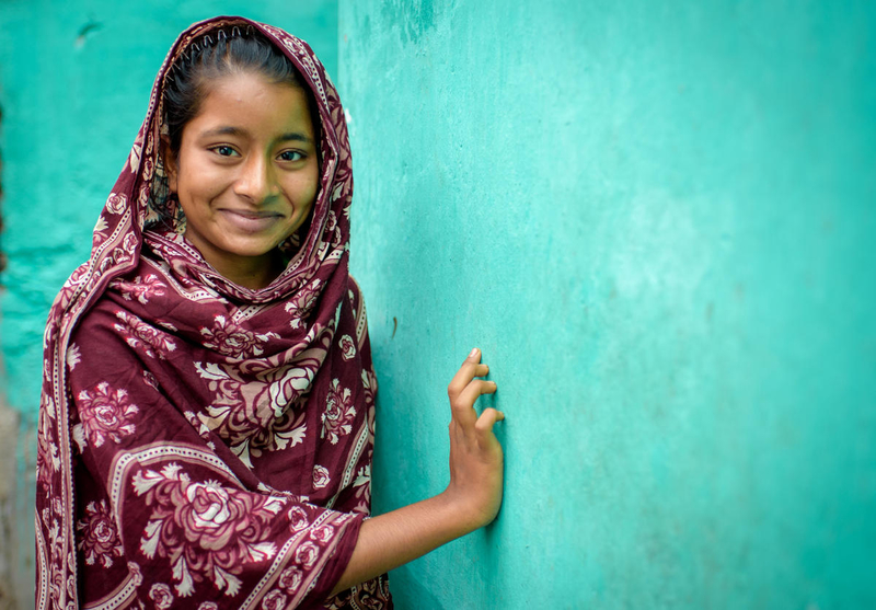 Girl in Bangladesh