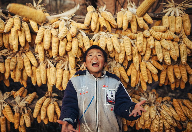 thanksgiving bible verses  Chen shows thankfulness for corn