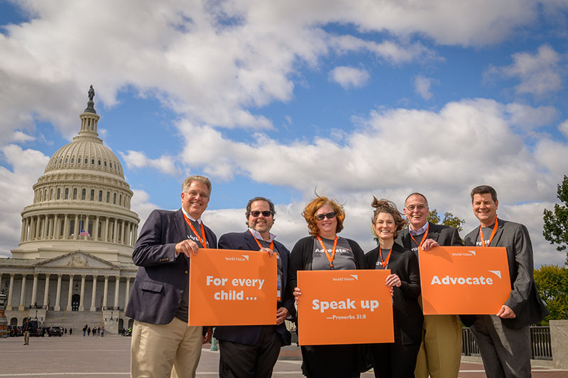 world vision advocates