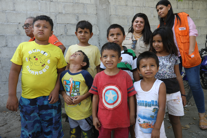 Children in Honduras