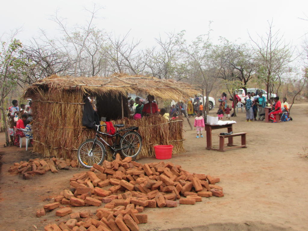 Health clinic in Malawi