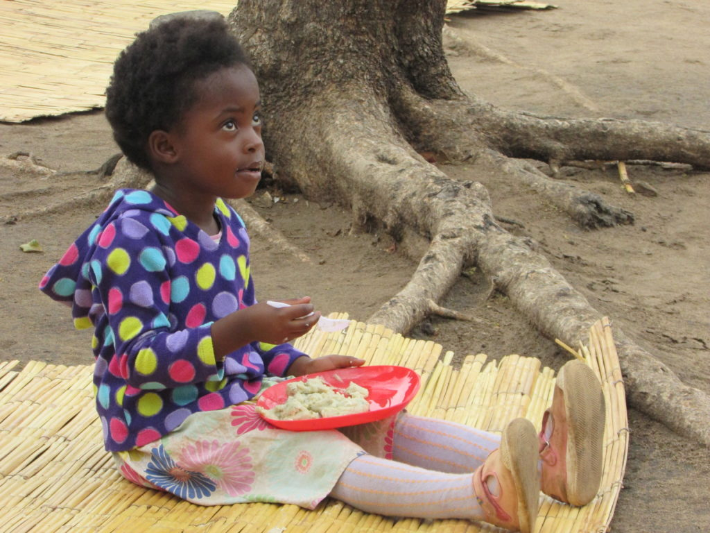 Little girl in Malawi