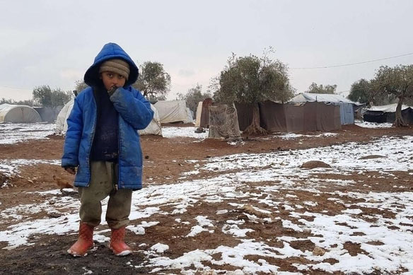 A call to pray for Syria and displaced children