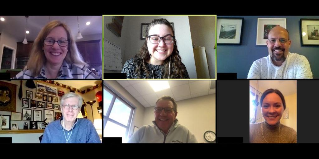 World Vision volunteer advocates hold virtual meeting
