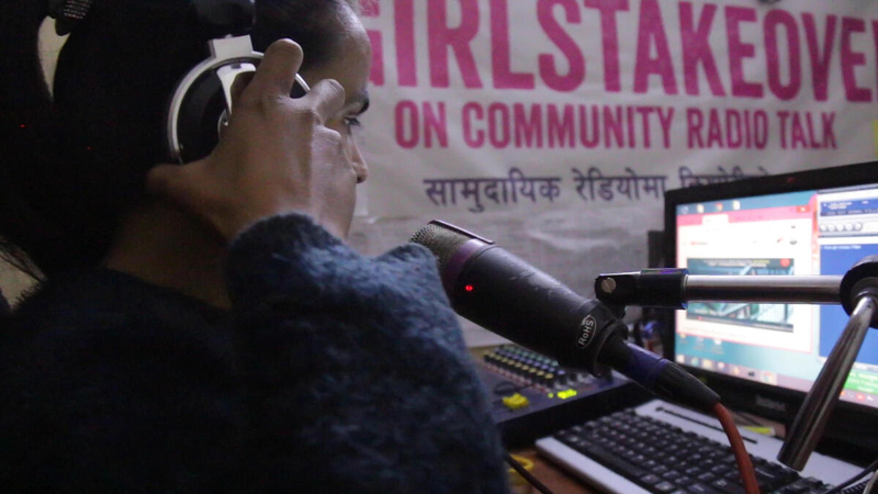 Malati works at the radio station
