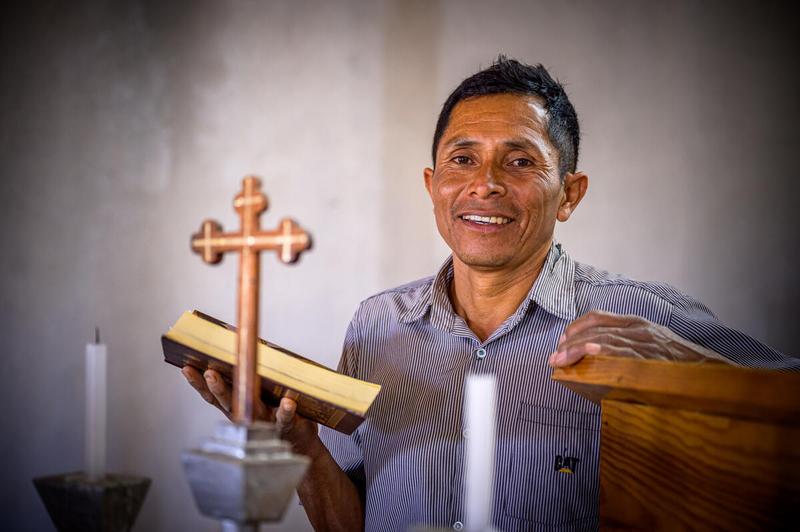 Faith motivates Francisco's work as a lay leader at his church.