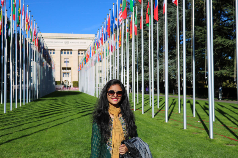 Dola at the United Nations to talk about child marriage