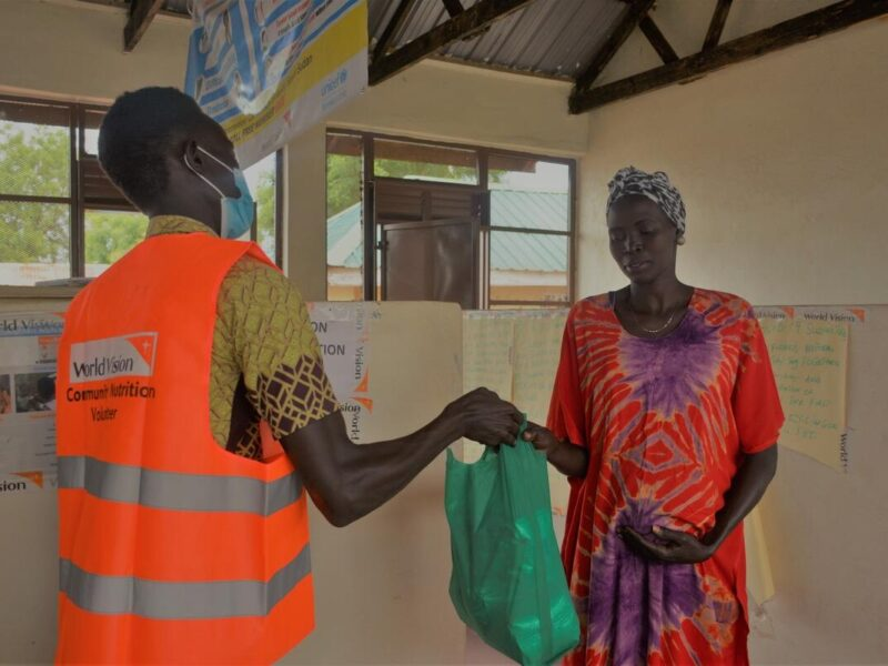 Reflections on World Vision's partnership with the Nobel Prize-winning World Food Programme